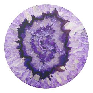 Purple agate eraser