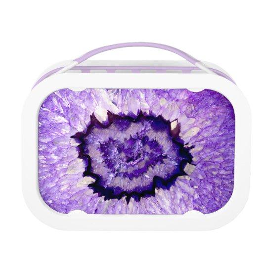 Purple agate lunchbox