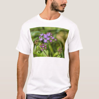 Purple Ageratum Wildflowers T-Shirt