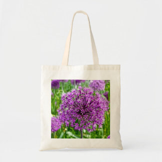 Purple Allium, Tote Bag