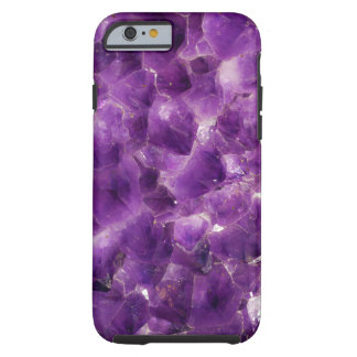 Purple Amethyst Gemstone Rock February Birthstone Tough iPhone 6 Case