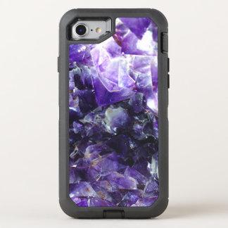 Purple amethyst OtterBox defender iPhone 8/7 case