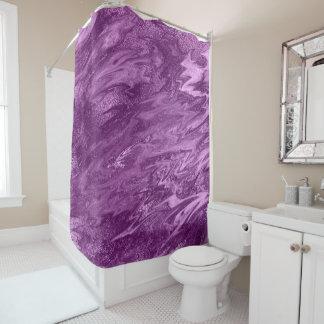 Purple Amethyst Plum Metal Molten Marble Abstract