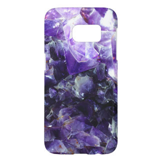 Purple amethyst samsung galaxy s7 case