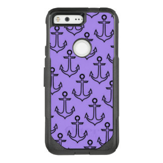 Purple Anchor Google Pixel Otterbox Case