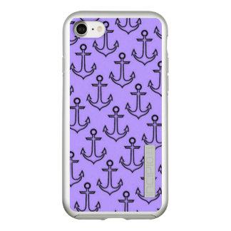 Purple Anchor Incipio DualPro Shine iPhone 8/7 Case