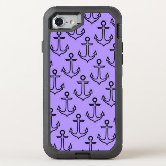Purple Anchor iPhone 8/7 Otterbox Case