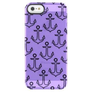 Purple Anchor iPhone SE/5/5s Deflector Case