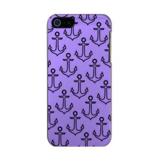 Purple Anchor iPhone SE/5/5s Incipio Case