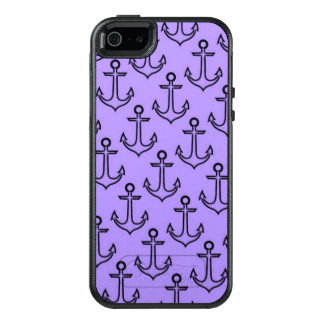 Purple Anchor iPhone SE/5/5s Otterbox Case