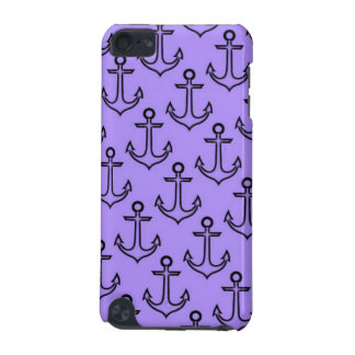 Purple Anchor iPod Touch 5/6 Case