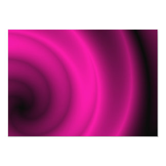 "Purple and black swirl background 5"" x 7"" invitation card"