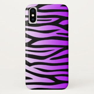 Purple and Black Zebra Pattern Case-Mate iPhone Case