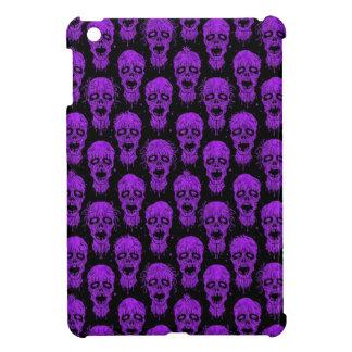 Purple and Black Zombie Apocalypse Pattern iPad Mini Cases