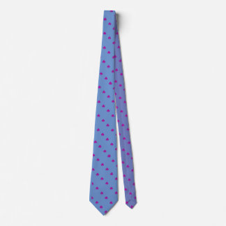 Purple and Blue Bi Pride Tie