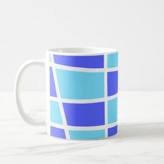 """Purple and blue Chess"" Coffee Mug"
