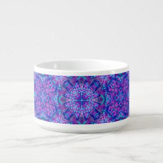 Purple And Blue Kaleidoscope    Chili Bowls