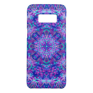 Purple And Blue Kaleidoscope  Phone Cases