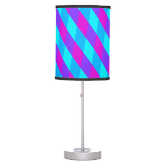 Purple and Blue Lines Lamp