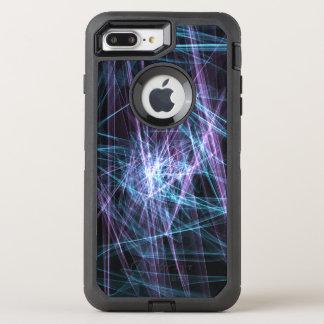 Purple and Blue Original Artwork iPhone Case
