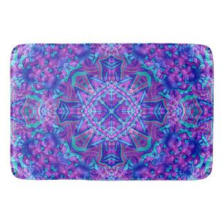 Purple And Blue Pattern Bath Mats, 3 sizes Bath Mat