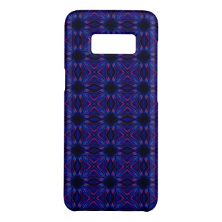 Purple and blue pattern Case-Mate samsung galaxy s8 case