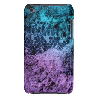 Purple and Blue Safari Case-Mate iPod Touch Case