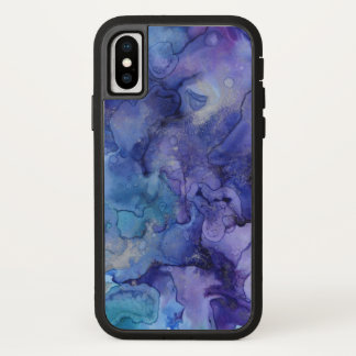 Purple and Blue Watercolor Case-Mate iPhone Case