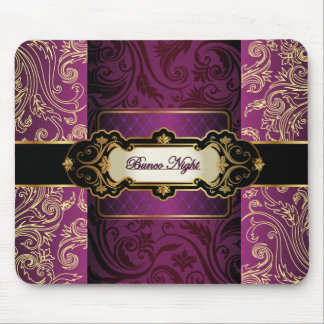 Purple and Gold Bunco Collection Mouse Pad