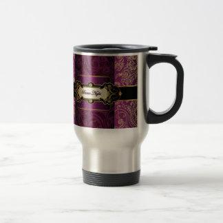 Purple and Gold Bunco Collection Coffee Mug