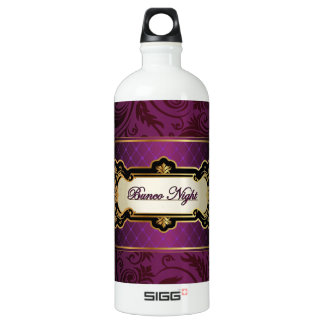 Purple and Gold Bunco Collection SIGG Traveler 1.0L Water Bottle