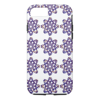 Purple and Gold Flower Mandala by AspireWonder iPhone 8/7 Case