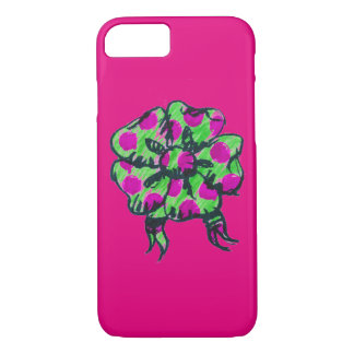 Purple and Green Bow Phone case