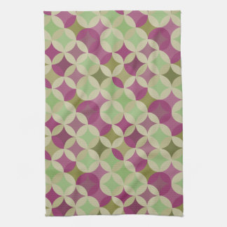Purple And Green Kitchen Dish Towels