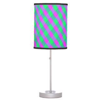 Purple and Green Lines Lamp