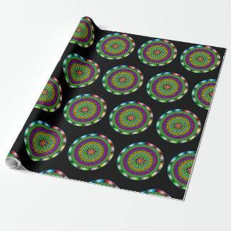 Purple and Green Mandala Gift Wrap