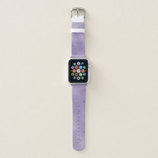 Purple and Green Mermaid Scales Apple Watch Band