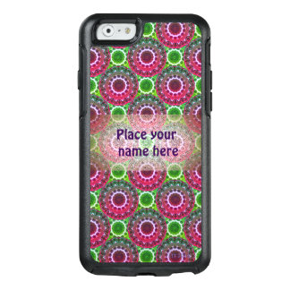 Purple and Green Rosette Phone Case