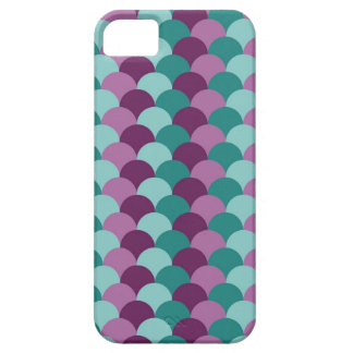 Purple and Green Scales Pattern iPhone 5 Case