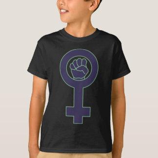 Purple and green venus mirror design T-Shirt