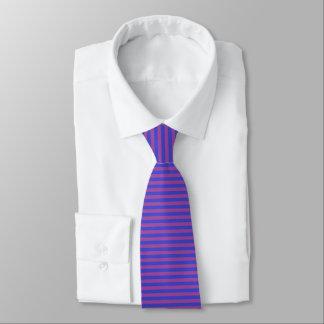 Purple and Indigo Stripes Tie