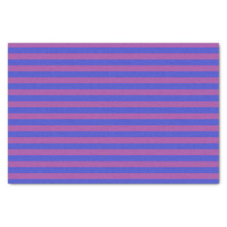 Purple and Indigo Stripes Tissue Paper