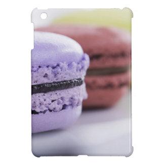 Purple and Maroon French Macaron Cookies iPad Mini Cover