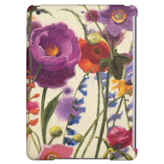 Purple and Orange Poppy Melody iPad Air Cover