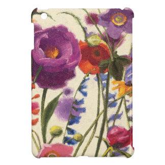 Purple and Orange Poppy Melody iPad Mini Case