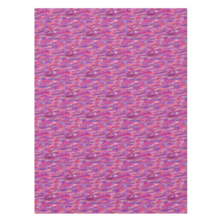 Purple and Pink Abstract Pattern Tablecloth