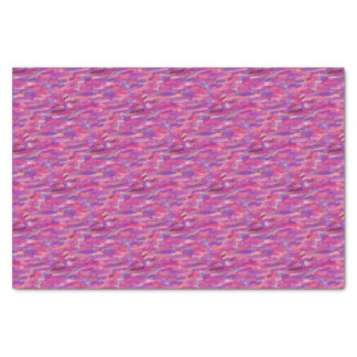 Purple and Pink Abstract Pattern Tissue Paper