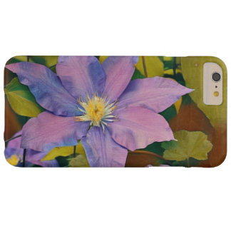 Purple And Pink Clematis Barely There iPhone 6 Plus Case