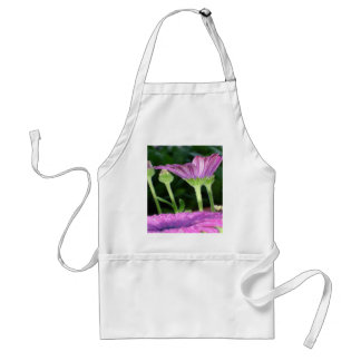 Purple And Pink Daisy Flower in Full Bloom Standard Apron