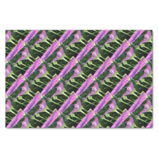 Purple And Pink Daisy Flower in Full Bloom Tissue Paper